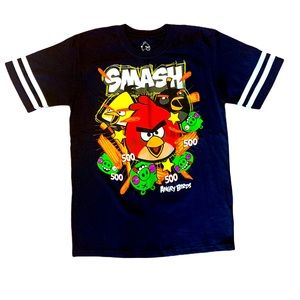 "Angry Birds ""Smash"" Collectable t-shirt size XL-14"